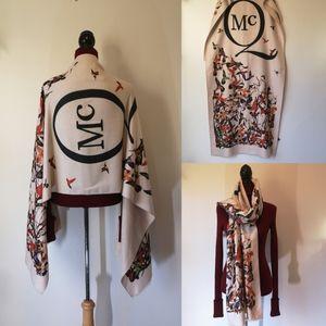 Alexander McQueen oversized scarf